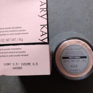 Ivory .5 powder foundation